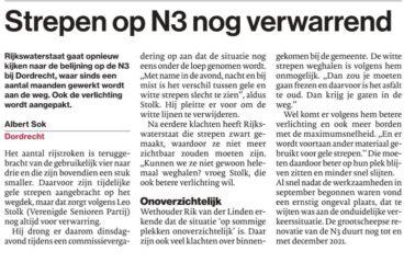 """<a href=""""/?p=1360""""> Rijkswaterstaat gaat opnieuw kijken naar de belijning op de N3</a>"""